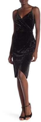 Cynthia Steffe CeCe by Audrey Sleeveless Velour Dress