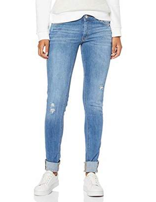Q/S designed by Women's 41.902.71.2862 Skinny Jeans, (Blue 55z6), (Size: 42/L34)