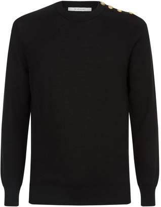 Givenchy Button Detail Sweater