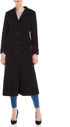 Lauren Ralph Lauren Wool Maxi Reefer Coat