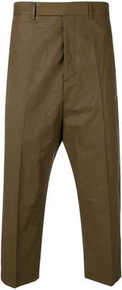 Rick Owens formal cropped trousers