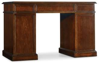 Hooker Furniture Thiede Bow Front Executive Desk