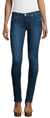 True Religion Stella Low-Rise Skinny Jeans, Inky Blue $178 thestylecure.com