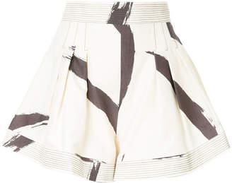 Zimmermann brush stroke shorts