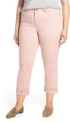 NYDJ Marilyn Cuff Straight Leg Jeans