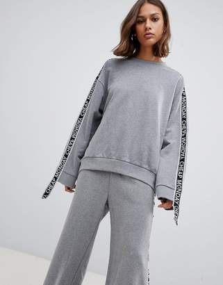 Cheap Monday Further tape sleeve sweatshirt