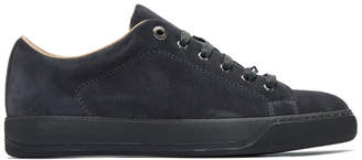 Lanvin Grey Suede Sneakers