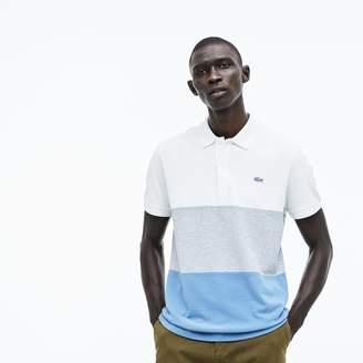 Lacoste Men's Regular Fit Colorblock Petit Pique Polo