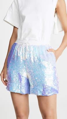 retrofete Belle Sequined Shorts