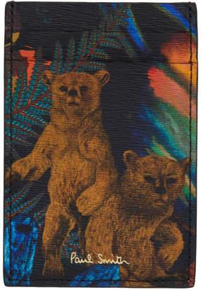 Paul Smith Multicolor Explorer Card Holder