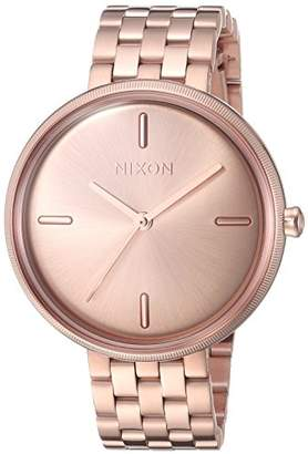 Nixon Women's 'VIX' Quartz Stainless Steel Casual Watch