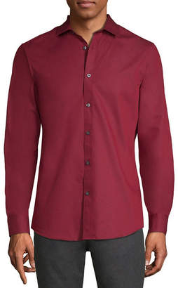 AXIST Axist Long Sleeve Diamond Button-Front Shirt