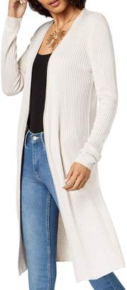 INC International Concepts Petite Ribbed Duster Cardigan
