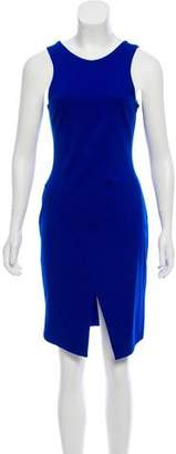 Amanda Uprichard Sleeveless Asymmetrical Dress