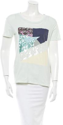 Sandro T-Shirt $45 thestylecure.com