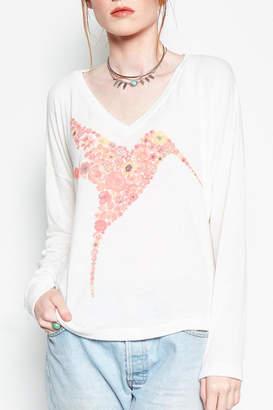 Lauren Moshi Bird Graphic Sweatshirt $162 thestylecure.com