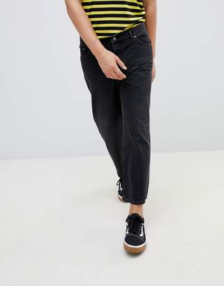 Cheap Monday Straight Fit Jeans In Black