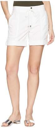 Lauren Ralph Lauren Cotton Twill Drawstring Shorts Women's Shorts