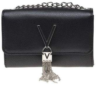 At Ebay Fashion Outlet Mario Valentino New Womens By Black Divina Synthetic Pu Handbag Clutch