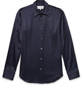 Maison Margiela Slim-Fit Satin Shirt