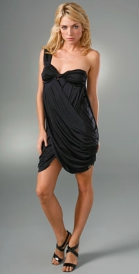 Rosa Cha Matrix One Shoulder Dress