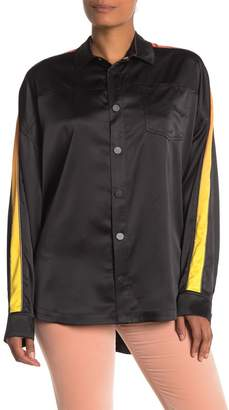 Opening Ceremony Elliptical Souvenir High/Low Button Down Shirt (Unisex)