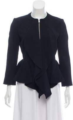 Givenchy Ruffle Trim Jacket
