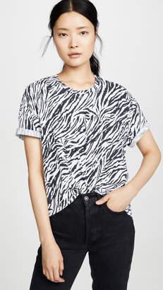 Sundry Zebra Oversize Tee