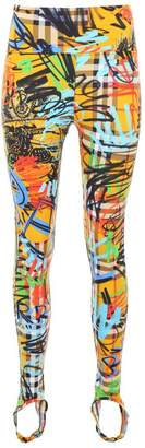 Burberry Graffiti Leggings