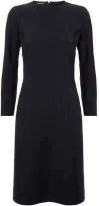 Emporio Armani Split Cuff Mini Dress