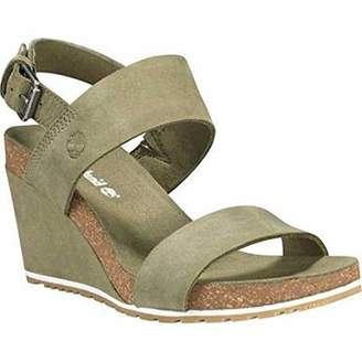 075ea72bdf Timberland Women's Capri Sunset Wedge Ankle Strap Sandals 9 (42 ...