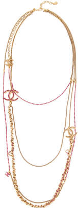 Chanel What Goes Around Comes Around Strands Necklace