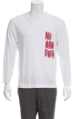 Alexander Wang No After Party Long Sleeve T-Shirt
