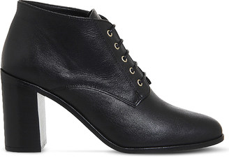 Office Landgirl leather lace up boot