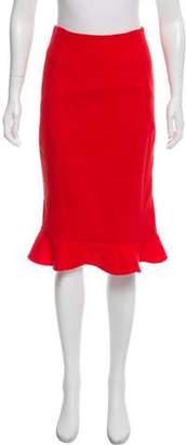 Oscar de la Renta 2016 Knee-Length Skirt