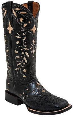 Women's Lucchese Bootmaker Sherilyn W Toe Cowgirl Boot