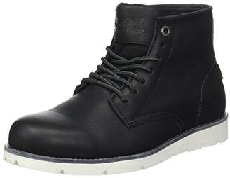 Levi's Men's Jax High Desert Boots, (Noir Regular Black 59)