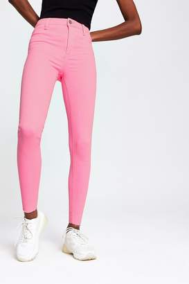 River Island Womens Neon Pink Molly Jean - Pink