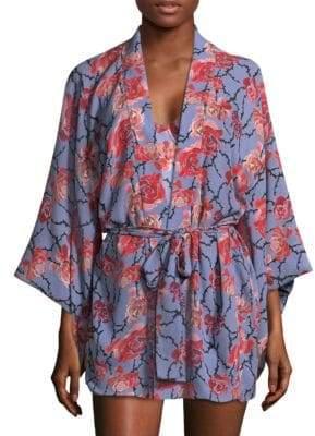 Fleur Du Mal Haori Silk Kimono