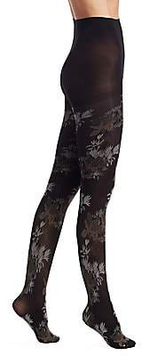 Natori Women's Brushed Deco Opaque Tights