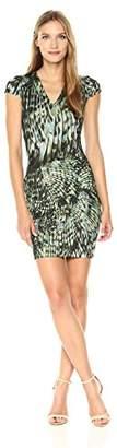 Just Cavalli Women's Wings of a Dove Short Dress