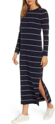 Lou & Grey Stripe Cozy Jersey Maxi Dress