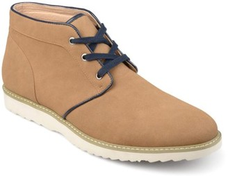 Territory Men's Lace-up Faux Suede Chukka Boots