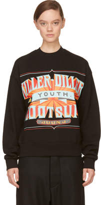 Juun.J Black Killer-Diller New Era Edition Sweatshirt