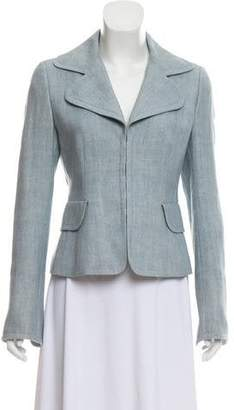 Akris Punto Notch-Lapel Short Blazer