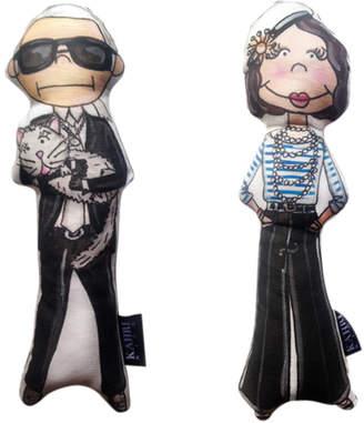 Karl Lagerfeld Kahri & Coco Chanel Doll Set