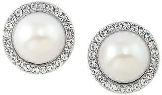 Carolee Clip-On Stud Earrings