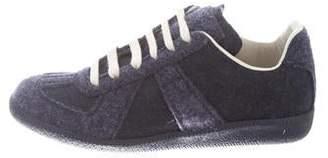 Maison Margiela Wool Low-Top Sneakers
