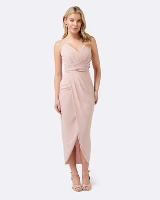 Petite Charlotte Drape Maxi Dress
