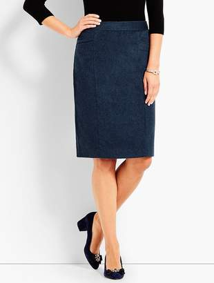 Talbots Italian Luxe Cashmere Pencil Skirt